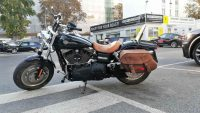 Motorrad Reinigung und Aufbereitung einer Harley Davidson.