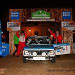 Rauno Aaltonen startet mit einem BMW 2002.