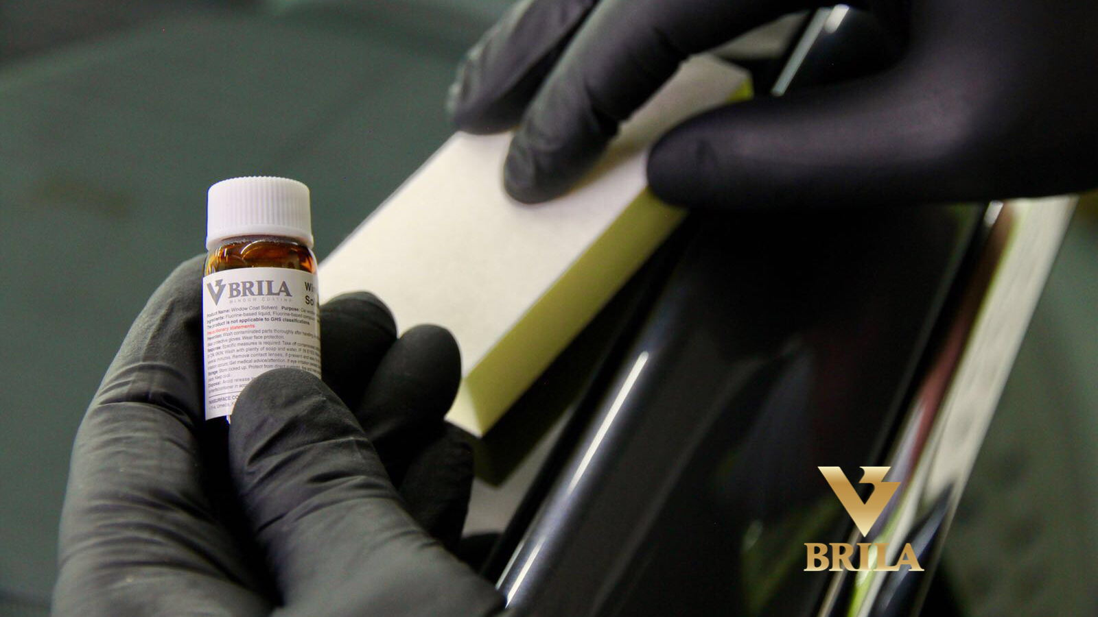 Brila glass coating, das revolutionäre Beschichtungssystem.