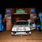 Das Team Weber - Langthaler, startet mit einem Golf 3 - kit car.