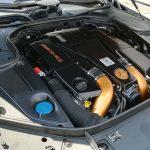 Der Motorraum des Mansory Mercedes AMG S63.