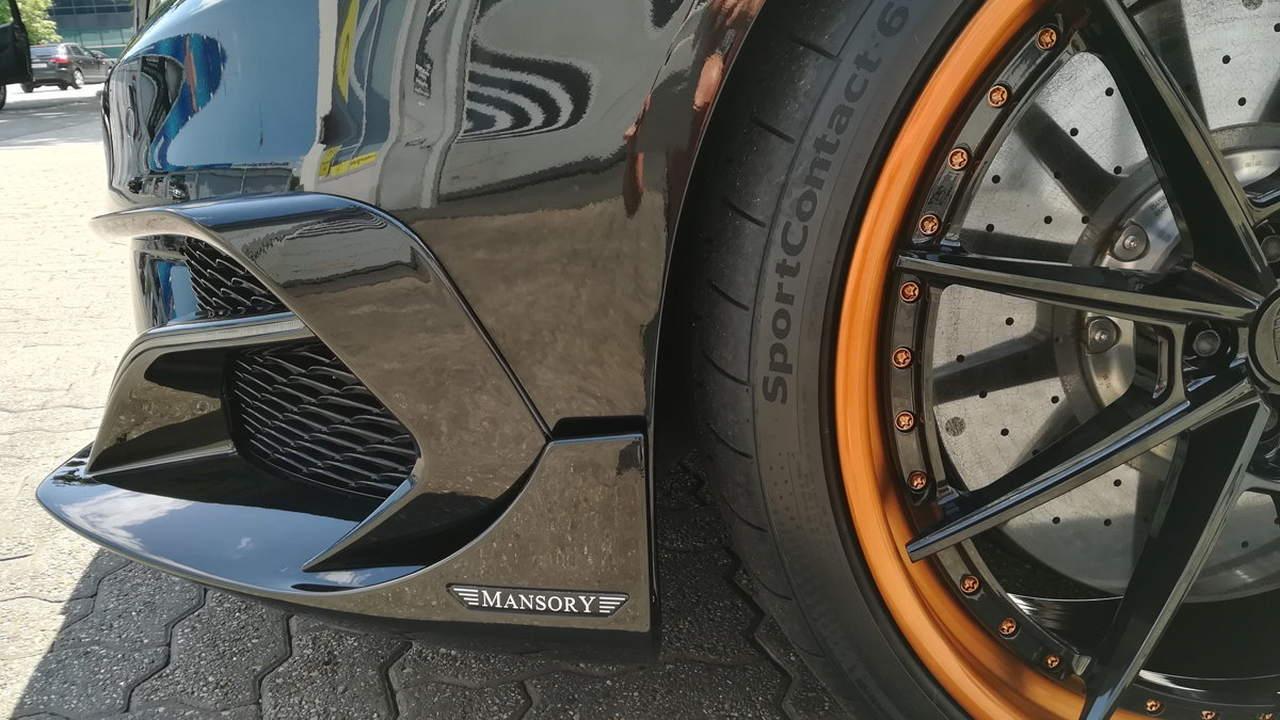 Keramikversiegelung bei einem Mansory Mercedes AMG von Gerry Holzweber.