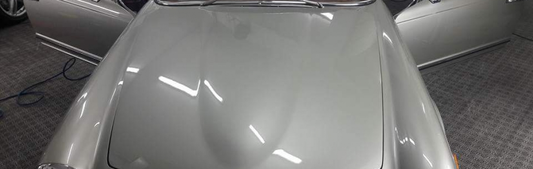 Oldtimer Autoaufbereitung: Pagode Mercedes Benz Baujahr: 1969